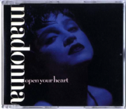 OPEN YOUR HEART - UK / GERMANY CD SINGLE